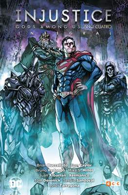 Injustice: Gods Among Us. Año cuatro (Cartoné 304 pp) #