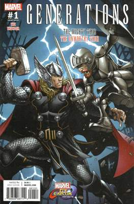 Generations - The Thunder (Variant Cover) (Comic Book) #1.3
