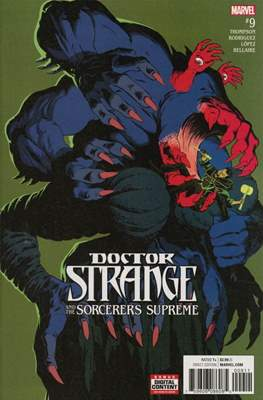 Doctor Strange and the Sorcerers Supreme #9