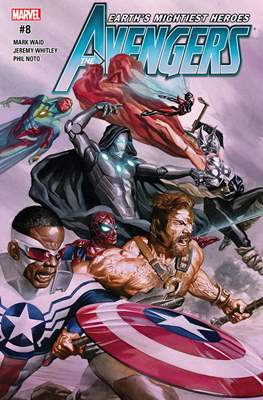 The Avengers Vol. 7 (2016-2018) (Comic-book) #8