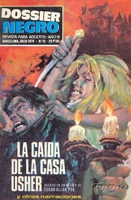 Dossier Negro (Rústica y grapa [1968 - 1988]) #16