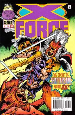 X-Force Vol. 1 (1991-2002) (Comic Book) #59