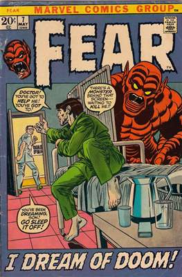 Adventures into Fear Vol 1 (Comic Book. 1970 - 1975) #7