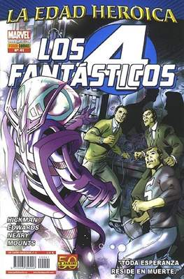 Los 4 Fantásticos / Los Cuatro Fantásticos Vol. 7 (2008-) (Grapa 24-48 pp) #41