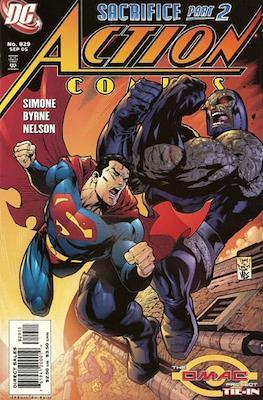 Action Comics Vol. 1 (1938-2011; 2016-) (Comic Book) #829
