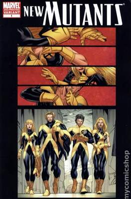 New Mutants Vol.3 (2009-2012 Variant Cover) #1.4