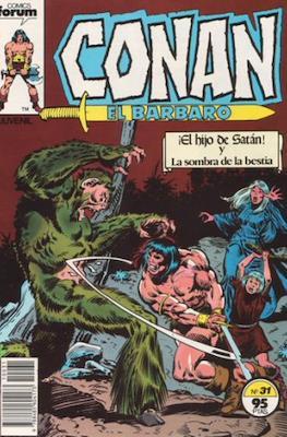 Conan el Bárbaro (1983-1994) (Grapa. 19x27. 36/32/24 páginas. Color.) #31