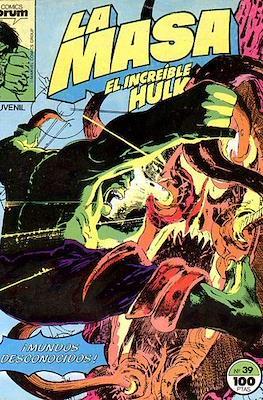 La Masa. El Increíble Hulk (Grapa 36-32 pp) #39