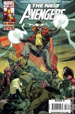 The New Avengers Vol. 1 (2005-2010) (Comic-Book) #58