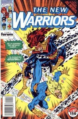 The New Warriors vol. 1 (1991-1995) (Grapa. 17x26. 24 páginas. Color. (1991-1995).) #27
