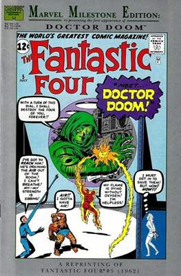 Fantastic Four. Marvel Milestone Edition (Comic Book) #2
