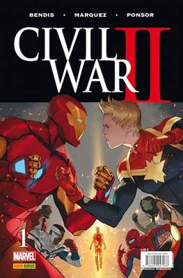 Civil War II (2016-2017) (Grapa) #1