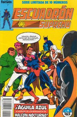 Escuadrón Supremo (1990) (Grapa. 17x26. 32 páginas. Color) #9
