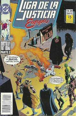 Liga de la Justicia Europa (1989-1992) (Grapa) #29