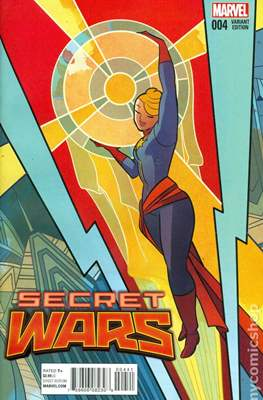 Secret Wars (2015) Variant Covers (Comic Book) #4.1