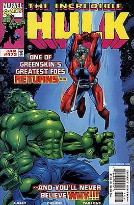 The Incredible Hulk Vol.1 (Saddle-stitched. 1962-1999) #472