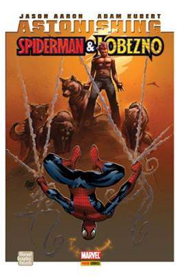 Spiderman. Astonishing Spiderman & Lobezno. Marvel Graphic Novels