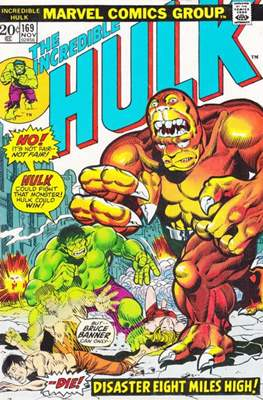 The Incredible Hulk Vol. 1 (1962-1999) (Comic Book) #169