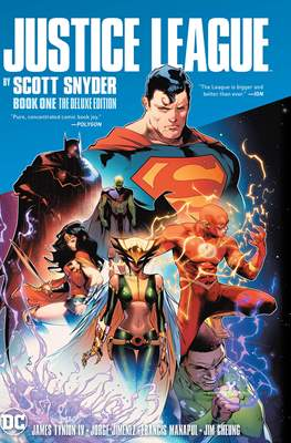 Justice League by Scott Snyder Deluxe Edition (Hardcover) #1