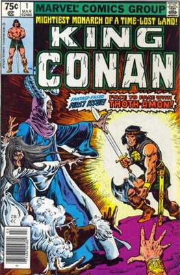 King Conan/Conan the King (1980-1989) (Grapa, 48 págs.) #1