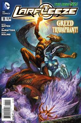 Larfleeze (2013-2014). The New 52 (Grapa) #11