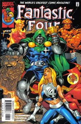 Fantastic Four Vol. 3 (1998-2012) #26