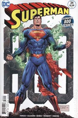 Superman Vol. 4 (2016-... Variant Covers) (Grapa) #34
