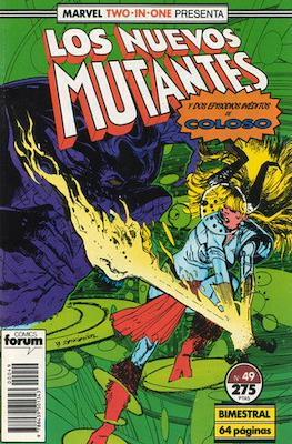 Los Nuevos Mutantes Vol. 1 (1986-1990) (Grapa 32-64 pp) #49