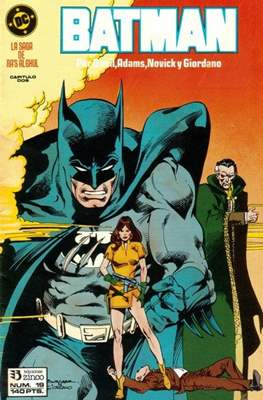 Batman (1987-1993) (Grapa) #19