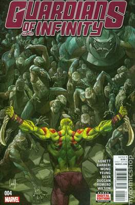 Guardians of Infinity (Comic Book) #4