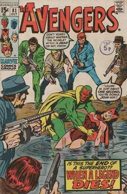 The Avengers Vol. 1 (1963-1996) (Comic Book) #81