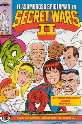 Secret Wars (1985-1987) (Grapa 32 pp) #48