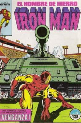 Iron Man Vol. 1 / Marvel Two-in-One: Iron Man & Capitán Marvel (1985-1991) (Grapa, 36-64 pp) #12