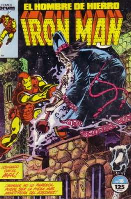Iron Man Vol. 1 / Marvel Two-in-One: Iron Man & Capitán Marvel (1985-1991) (Grapa, 36-64 pp) #18