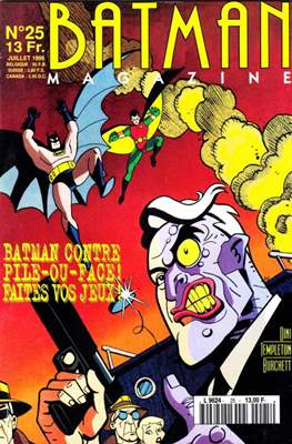 Batman Magazine (Agrafé. 32 pp) #25