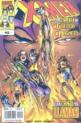 X-Men Vol. 2 / Nuevos X-Men (1996-2004) (Grapa 24 pp) #45