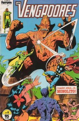 Los Vengadores Vol. 1 (1983-1994) (Grapa) #9