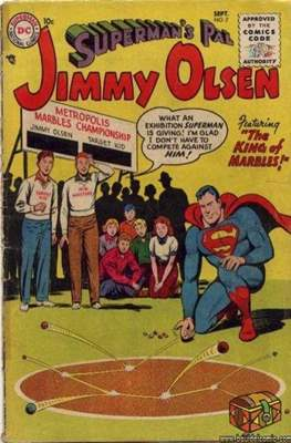 Superman's Pal, Jimmy Olsen / The Superman Family (Comic Book) #7