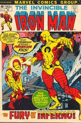 Iron Man Vol. 1 (1968-1996) (Comic book) #48