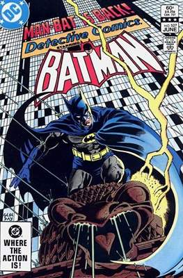Detective Comics Vol. 1 (1937-2011; 2016-) (Comic Book) #527