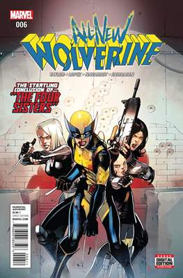 All-New Wolverine (2016-) (Comic book) #6