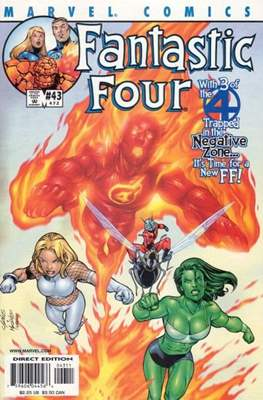 Fantastic Four Vol. 3 (Comic Book) #43 (472)