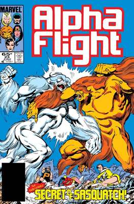 Alpha Flight (Vol. 1 1983-1994) #23