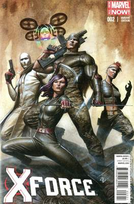 X-Force Vol. 4 (2014-2015 Variant Cover) (Comic Book) #2