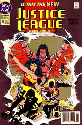 Justice League / Justice League International / Justice League America (1987-1996) (Comic-Book) #71.1