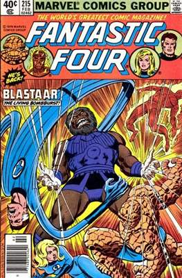 Fantastic Four Vol. 1 (1961-1996) (saddle-stitched) #215