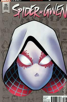 Spider-Gwen Vol. 2. Variant Covers (2015-...) #25.1