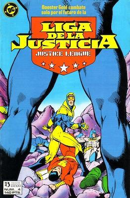 Liga de la Justicia / Liga de la Justicia internacional / Liga de la Justicia de America (1988-1992) (Grapa) #4