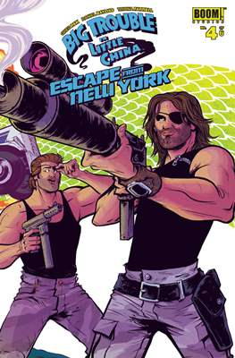 Big Trouble in Little China Escape from New York (Grapa) #4