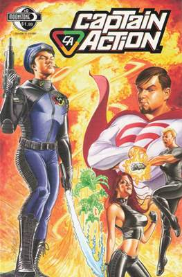 Captain Action Comics